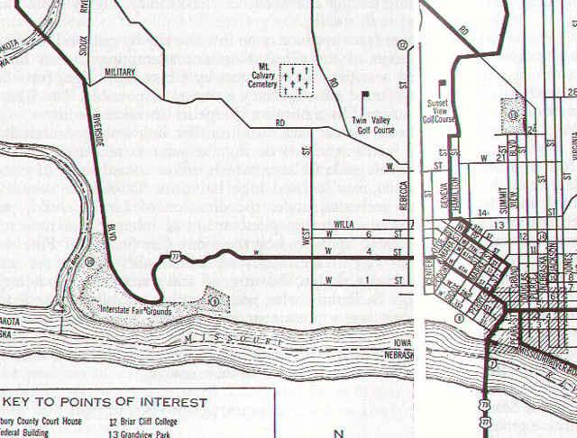 US Highway 77 Iowa The Lost Highway - Iowa Map Of Us