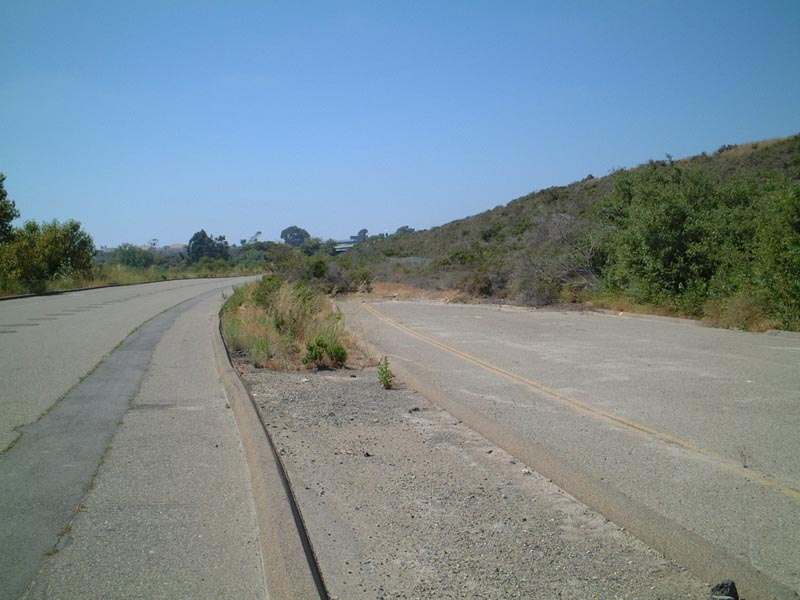 Abandoned U.S. 101: Basilone Road Approach